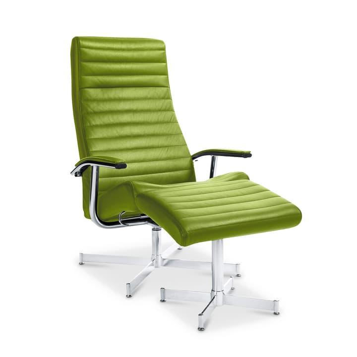 HARVEY Poltrona e poggiapiedi 360002226903 Dimensioni L: 64.0 cm x P: 74.0 cm x A: 105.0 cm Colore Verde chiaro N. figura 1