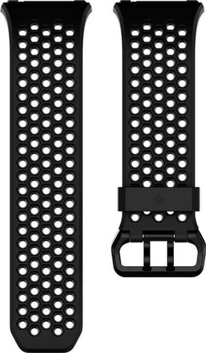 Ionic Cinturino Sport Nero / Antracite Fitbit 785300131147 N. figura 1