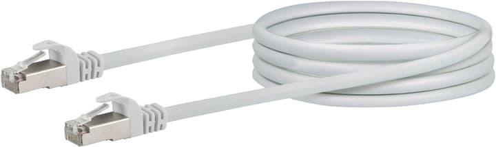 Cable de réseau S/FTP Cat. 6 1m blanc Schwaiger 613187200000 Photo no. 1