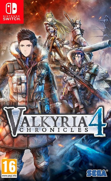NSW - Valkyria Chronicles 4 - Limited Edition (F) Box 785300137517 Bild Nr. 1
