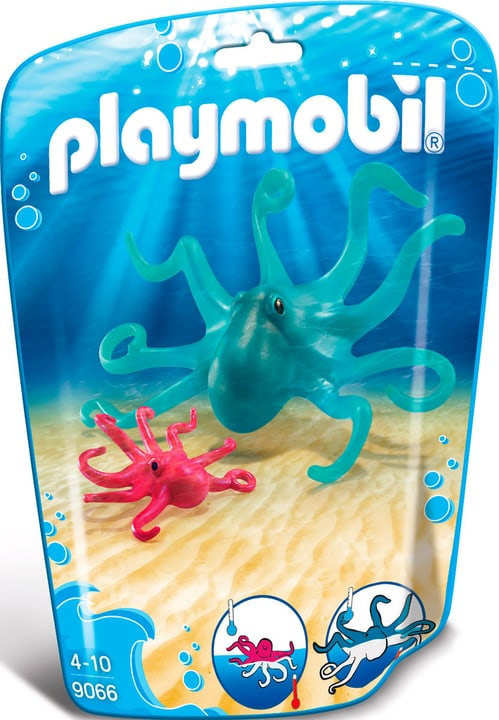 Playmobil Family Fun Pieuvre et son petit 9066 746087400000 Photo no. 1