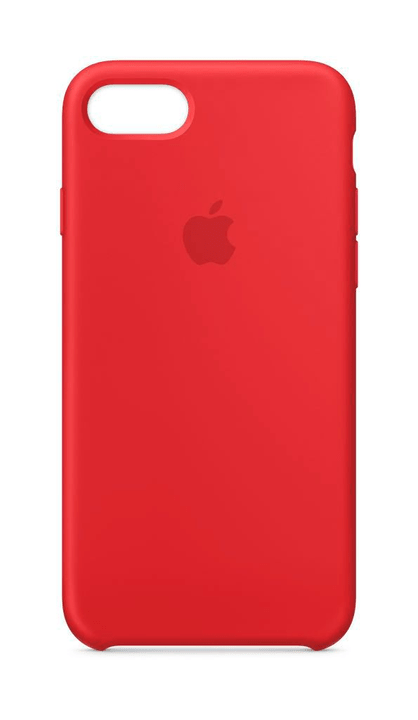 coque iphone 7 silicone rouge