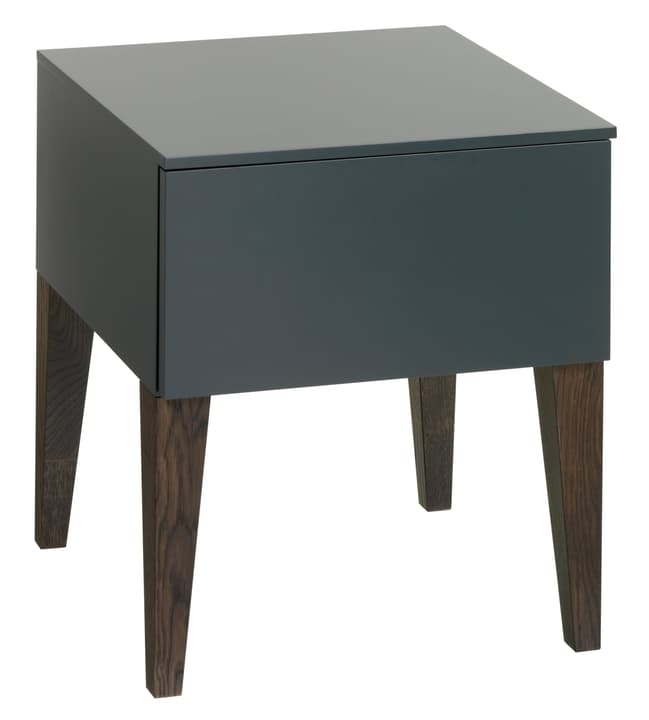 GIROD Table de chevet 404439885092 Dimensions L: 41.5 cm x P: 41.0 cm x H: 45.0 cm Couleur Anthracite Photo no. 1
