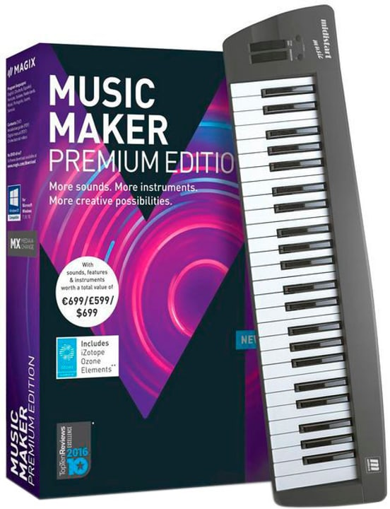 PC - Music Maker 2018 Control Edition (D) Fisico (Box) Magix 785300129409 N. figura 1