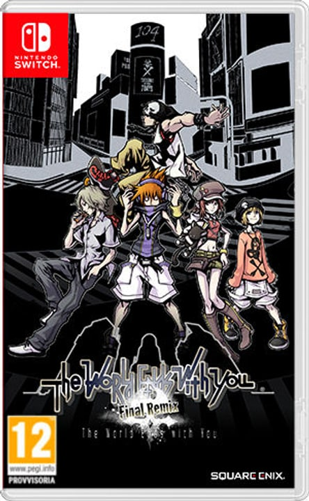 NSW - The World Ends With You - Final Remix (F) Box 785300138216 Bild Nr. 1