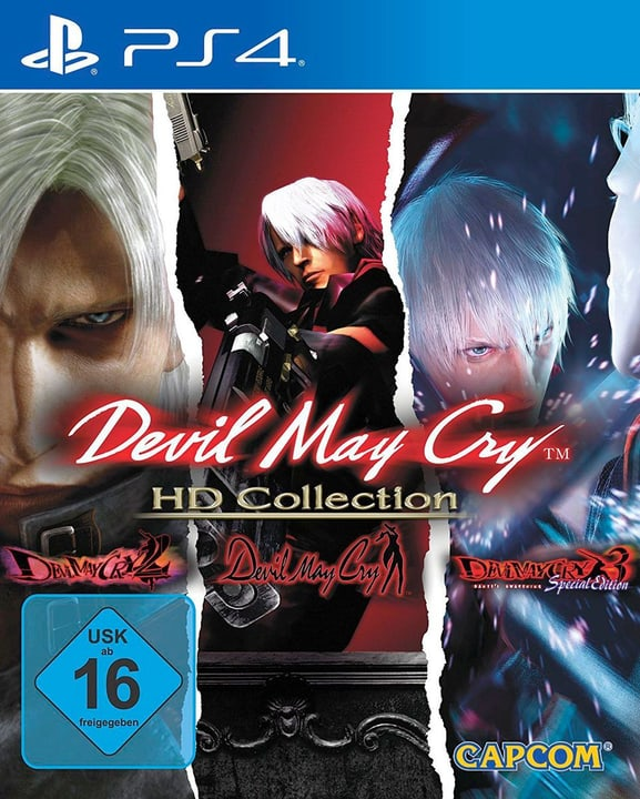 PS4 - Devil May Cry - HD Collection (D/F/I) Box 785300132159 Bild Nr. 1