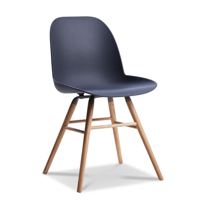 ALBERT Stuhl dunkelgrau Stuhl 366027593601 Grösse B: 55.0 cm x T: 49.0 cm x H: 81.5 cm Farbe Dunkelgrau Bild Nr. 1