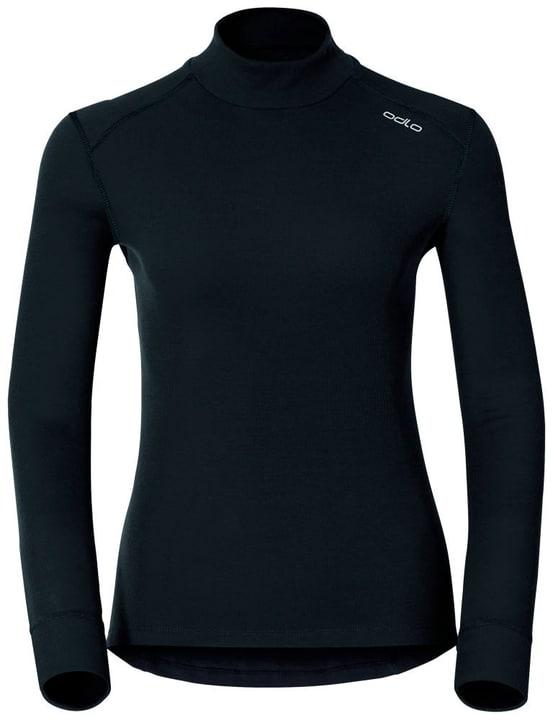 Warm Damen-Langarmshirt Odlo 477011100220 Farbe schwarz Grösse XS Bild-Nr. 1