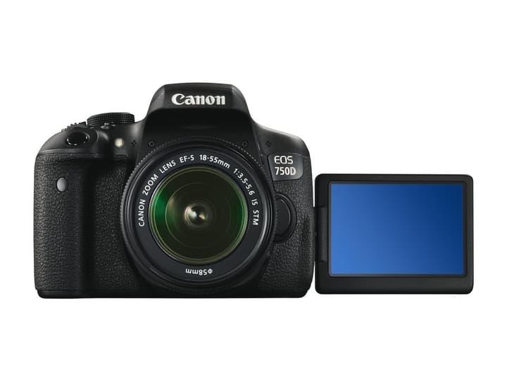EOS 750D 18-55mm Set (incl. sac + carte mémoire de 8 Go) App. photo reflex Set Canon 793414300000 Photo no. 1