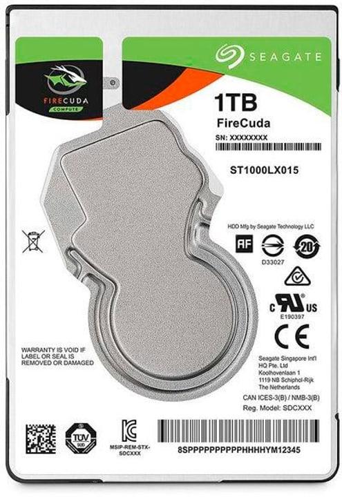 """SSHD FireCuda 3.5"""" 1 TB Disque Dur Interne HDD Seagate 785300145822 Photo no. 1"""