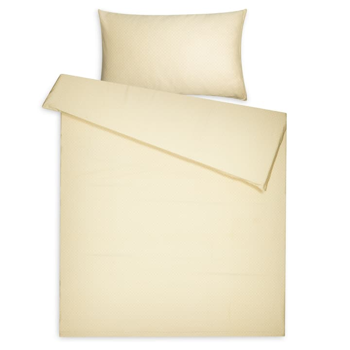 LIAM Housse de couette satin 376076112550 Dimensions L: 210.0 cm x L: 200.0 cm Couleur Jaune Photo no. 1
