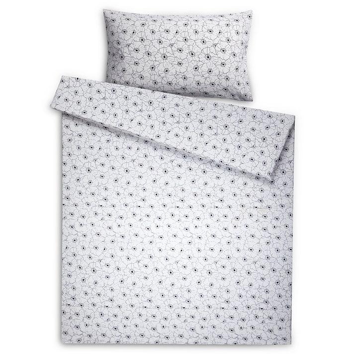AVA Federa per cuscino lino/cotone 376071310943 Dimensioni L: 100.0 cm x L: 65.0 cm Colore Nero varie fantasie N. figura 1