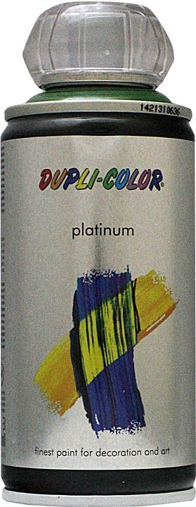 Peinture en aérosol Platinum brillante Dupli-Color 660833700000 Couleur Vert Contenu 150.0 ml Photo no. 1