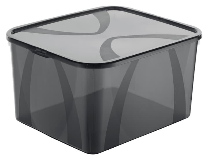 Arco Box 25L, grau Rotho 603630400000 Grösse L: 41.7 cm x B: 35.1 cm x H: 23.0 cm Farbe Grau Bild Nr. 1