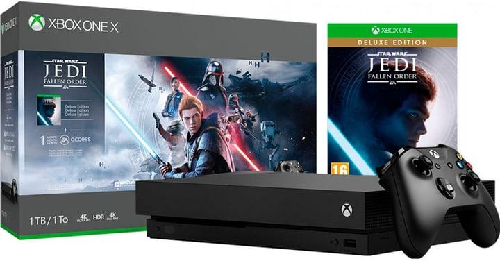 Xbox One X 1TB – Star Wars Jedi: Fallen Order Bundle Microsoft 785300147535 Photo no. 1