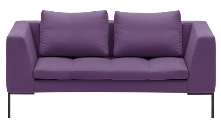 BADER Canapé 2 places 405686420323 Dimensions L: 174.0 cm x P: 105.0 cm x H: 80.0 cm Couleur Violet Photo no. 1