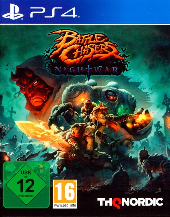 PS4 - Battle Chasers: Nightwar Box 785300128930 Photo no. 1
