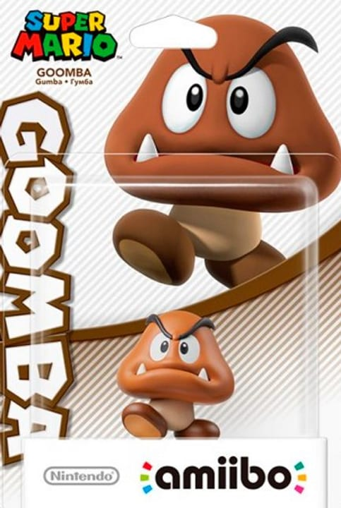amiibo Super Mario Character - Goomba 785300128785 Photo no. 1