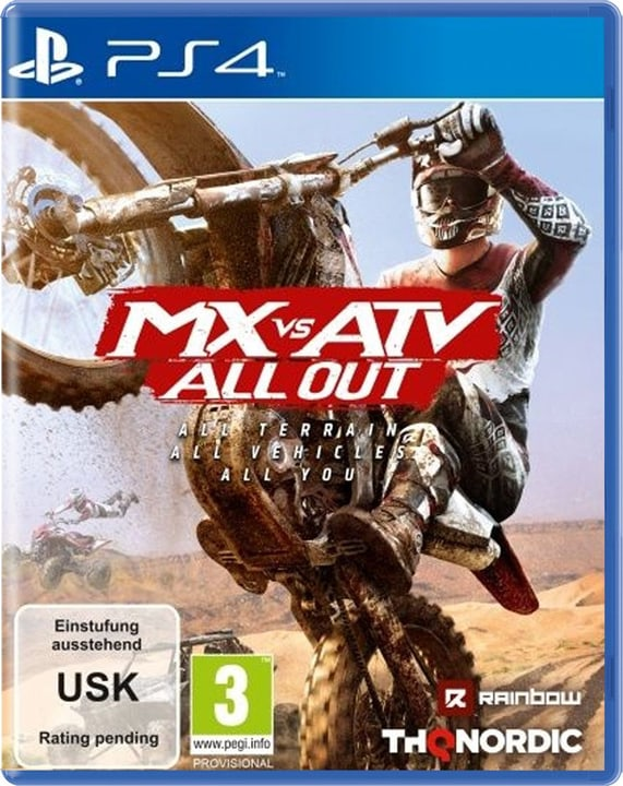 PS4 - MX vs. ATV All Out D Physique (Box) 785300131998 Photo no. 1