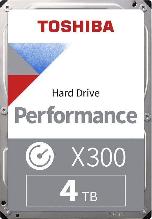 "X300 High Performance  4TB 3.5"" SATA (BULK) HDD Intern Toshiba 785300137553 Bild Nr. 1"