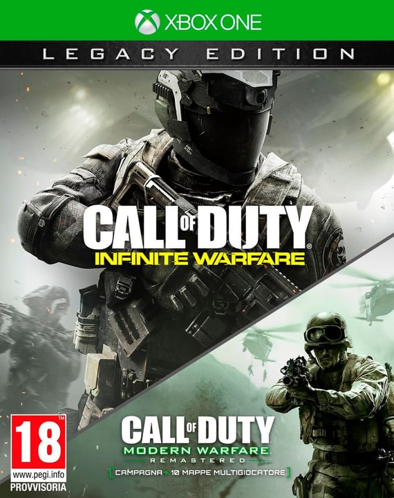 Xbox One - Call of Duty 13: Infinite Warfare (Legacy Editinkl. MW1) Box 785300121095 N. figura 1