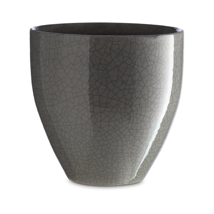 CRACKLE Cache-pot 382103500000 Dimensions L: 24.0 cm x P: 24.0 cm x H: 24.0 cm Couleur Gris Photo no. 1
