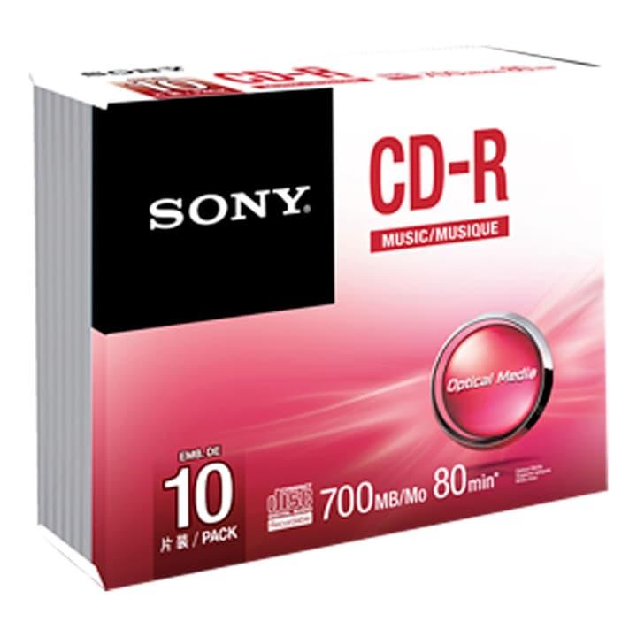 CD-R Audio 80 Min. 10er-Pack CD-R Audio 80 Min. 10er-Pack Sony 787003400000 Bild Nr. 1