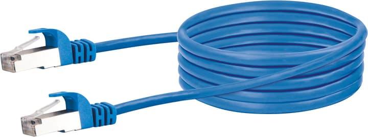 Netzwerkkabel S/FTP Cat. 6 1m blau Schwaiger 613187400000 Bild Nr. 1