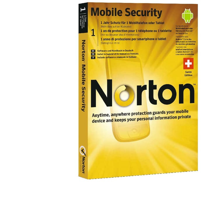 Symantec Mobile Security 3.0 - 1 User Card Physisch (Box) Norton 785300116322 Bild Nr. 1