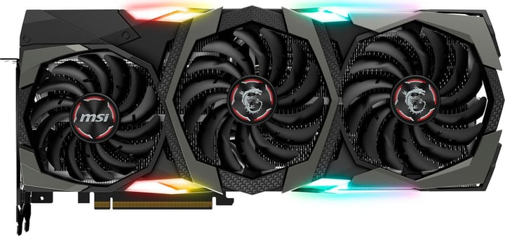GeForce RTX 2080 Ti GAMING X TRIO Card graphique MSI 785300147398 Photo no. 1