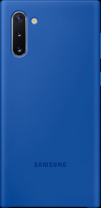 Silicone Cover blue Coque Samsung 785300146401 Photo no. 1