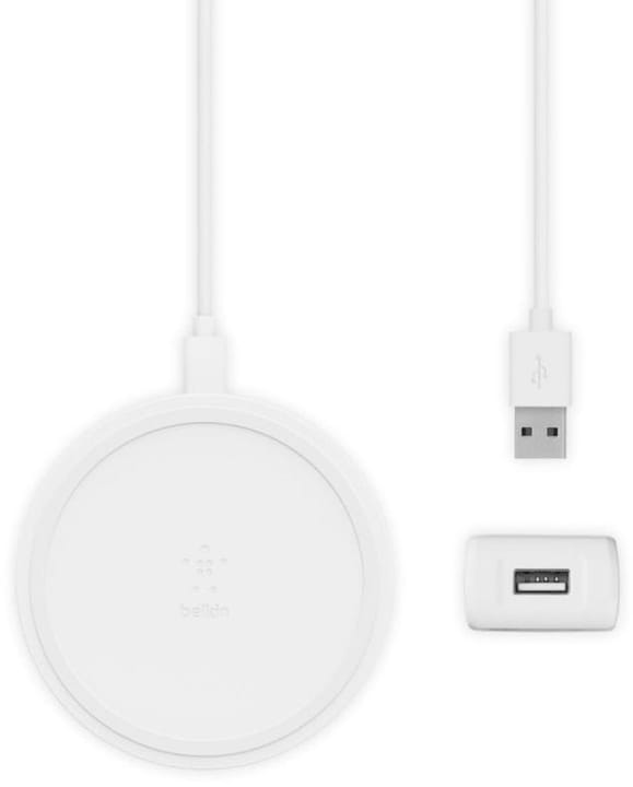 Boost Up Wireless Charging Pad (10W) - Bianco Caricabatterie Belkin 785300150023 N. figura 1