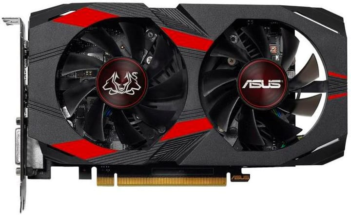 GeForce GTX1050Ti CERBERUS A4G Card graphique Asus 785300140871 Photo no. 1