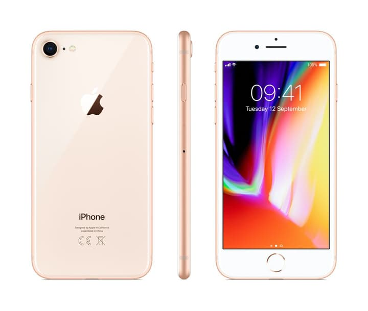 iPhone 8 256GB Gold Apple 794624400000 Photo no. 1