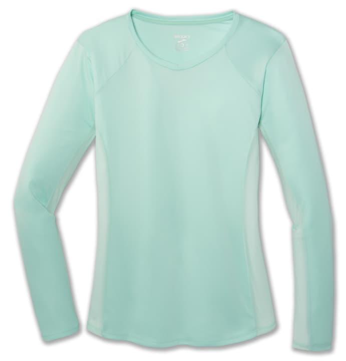 Stealth Long Sleeve Damen-Langarmshirt Brooks 470191300385 Farbe mint Grösse S Bild-Nr. 1