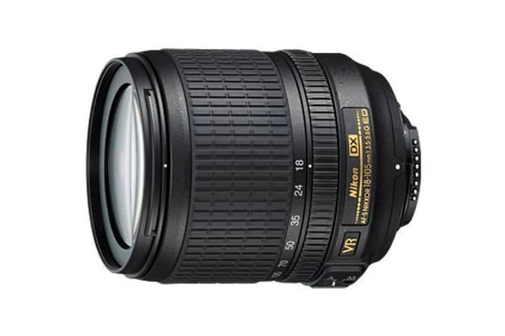 Nikkor AF-S DX VR 18-105mm/3.5-5.6G ED Objectif Objectif Nikon 785300125530 Photo no. 1