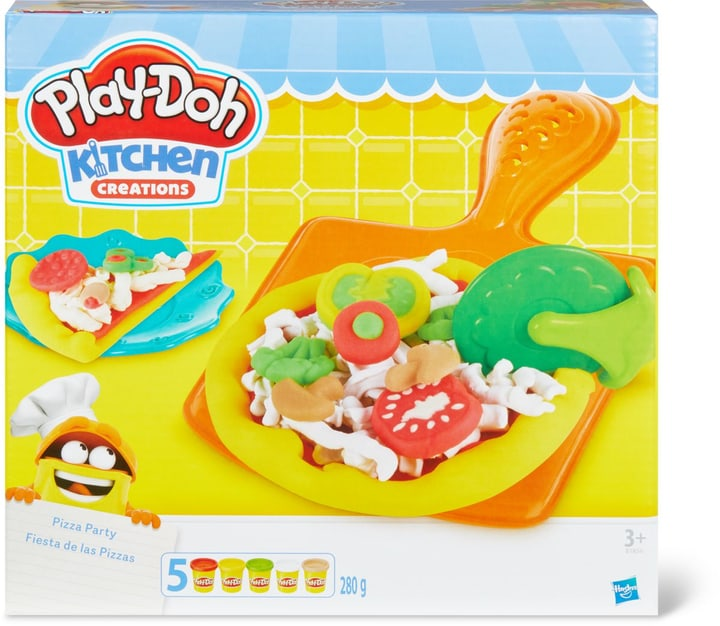 Play-Doh Pizza Party 746117600000 N. figura 1