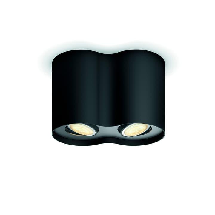 HUE PILLAR Spot nero 2 luci Philips 421412300002 Dimensioni L: 30.5 cm x P: 8.9 cm x A: 10.9 cm x D: 8.9 cm Colore Nero N. figura 1