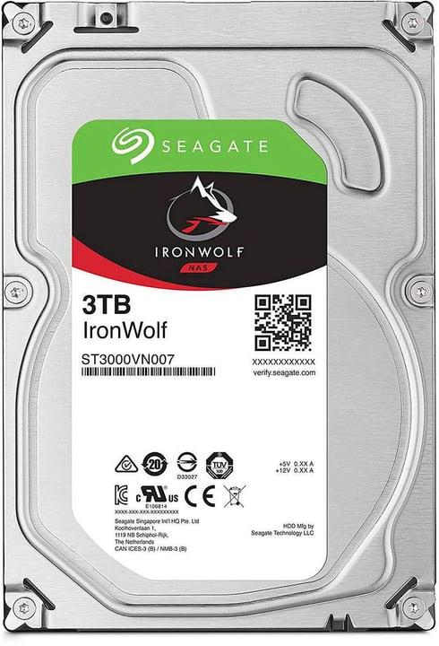 """IronWolf SATA 3.5"""" 3 TB Disque Dur Interne HDD Seagate 785300145859 Photo no. 1"""