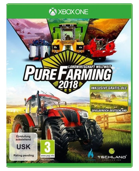 Xbox One - Pure Farming 2018 Day One Edition (D) Fisico (Box) 785300131614 N. figura 1