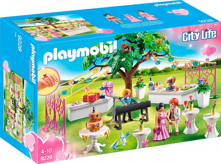 Playmobil City Life Hochzeitsparty 9228 746078800000 Bild Nr. 1