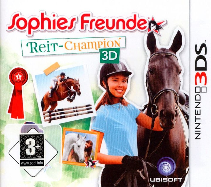 3DS - Reit-Champion 3D Fisico (Box) 785300129014 N. figura 1