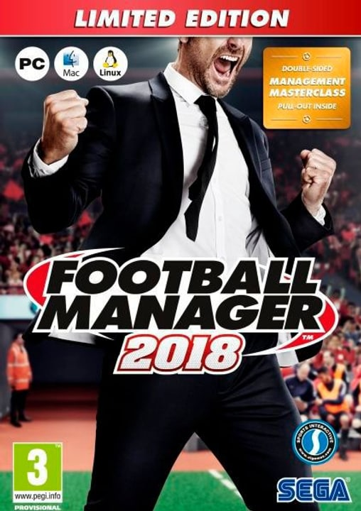 Football Manager 2018 Limited Edition (PC) (I) 785300130181 Photo no. 1