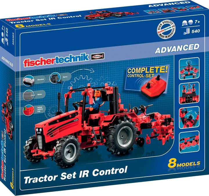 FischerTechnik Tractor Set IR Control 785300127917 Photo no. 1