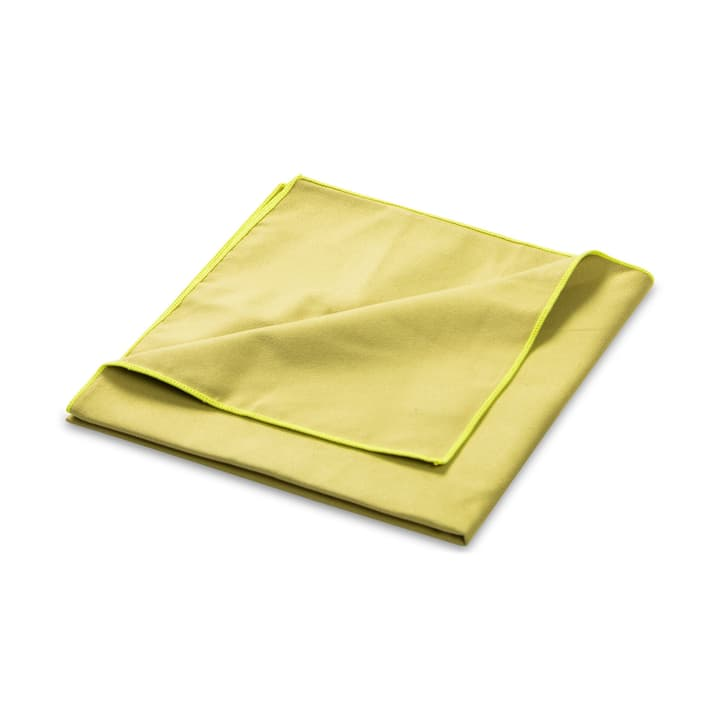 JIL Essuie-mains microfibre 374143600137 Dimensions L: 50.0 cm x P: 100.0 cm Couleur Vert Photo no. 1