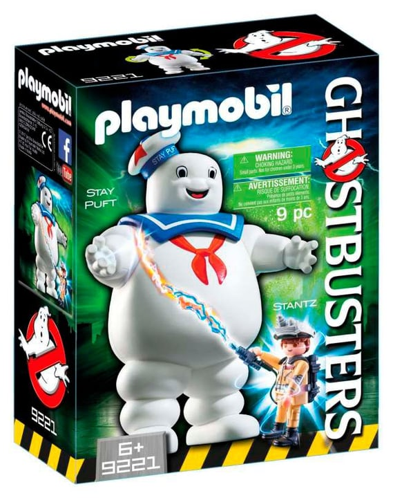 Playmobil Ghostbusters Stay Puft Marshmallow Man 9221 746079800000 Bild Nr. 1