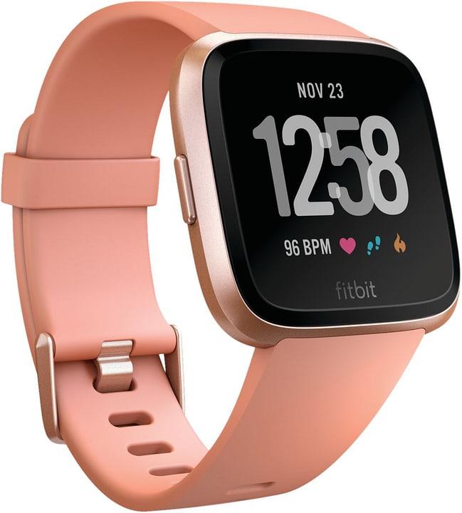 Versa -  Peach / Rose Gold Aluminum Smartwatch Fitbit 798432900000 Bild Nr. 1