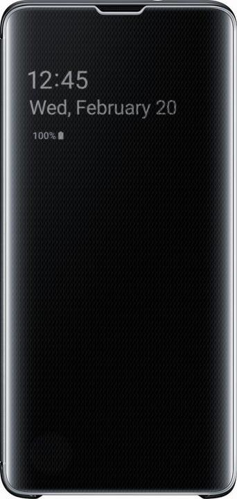 Clear view cover Black Custodia Samsung 798631200000 N. figura 1