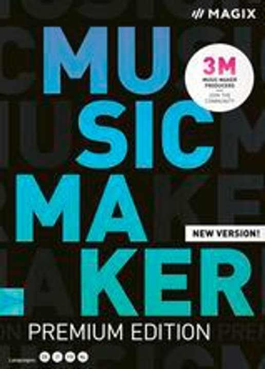 Music Maker Premium Edition 2020 [PC] (D/F/I) Physisch (Box) Magix 785300146279 Bild Nr. 1