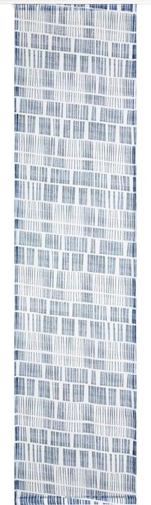 GINO Tenda a pannello 430582730440 Colore Blu Dimensioni L: 60.0 cm x A: 245.0 cm N. figura 1